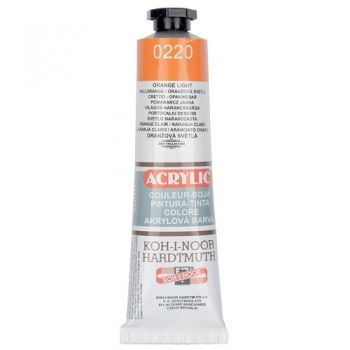 Acrylic paint Koh-I-Noor light orange