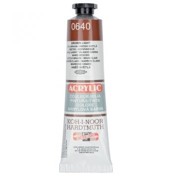 Acrylic paint Koh-I-Noor dark brown