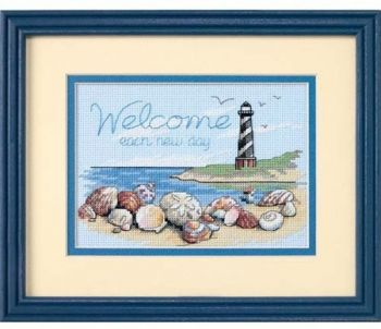 "Cross-stitch kit Dimensions ""Welcome Each New Day"""