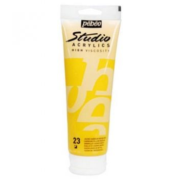 Acryl paint Pebeo Acryl Studio 250 ml. Cadmium yellow medium 023