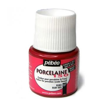 Porcelain paint Pebeo ruby
