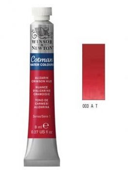 Watercolour paints Cotman alizarin crimson