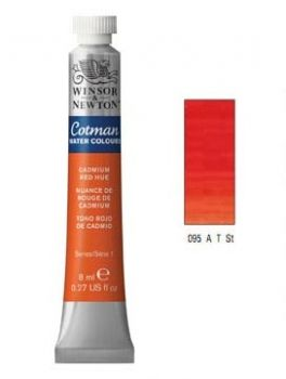 Watercolour paints Cotman cadmium red hue
