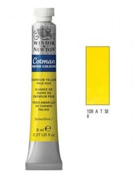 Watercolour paints Cotman cadmium yellow pale hue