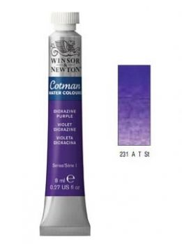 Watercolour paints Cotman dioxazine purple