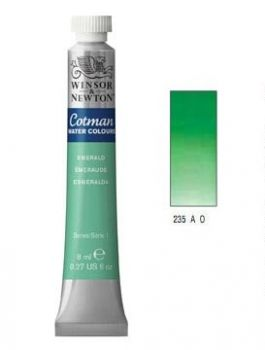 Watercolour paints Cotman emerald green
