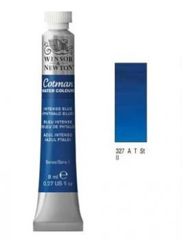 Watercolour paints Cotman intense blue