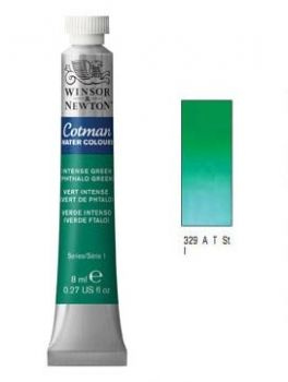 Watercolour paints Cotman intense green