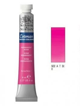 Watercolour paints Cotman permanent rose