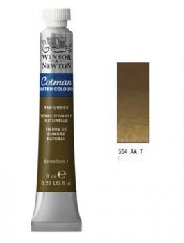 Watercolour paints Cotman raw umber