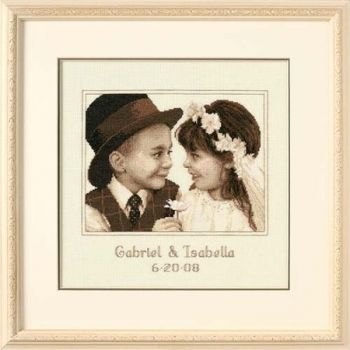 "Goblenul de Dimensions ""First Love Wedding Record"" Ro"