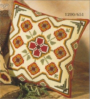 Vervaco cross stitch cushion PN-0008594