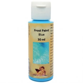 Acrylic paint with frost effect 30 ml. blue