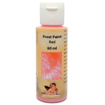 Acrylic paint with frost effect 60 ml. red