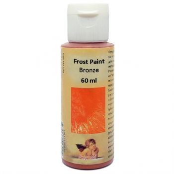 Acrylic paint with frost effect 60 ml. bronze