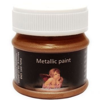 Acrylic metalic paint copper