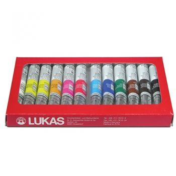 Acrylic paints Lucas 12 colours