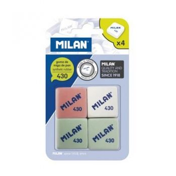 Milan set 4 rubbers collection