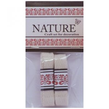 Cotton Lace Nature colour natural