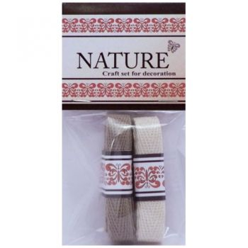 Cotton Lace Nature colours natural