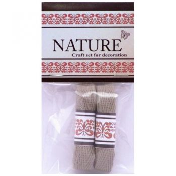 Cotton Lace Nature colours natural middle