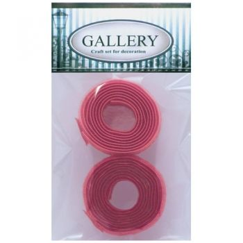 Velkro 2 cm widt light raspberry pink