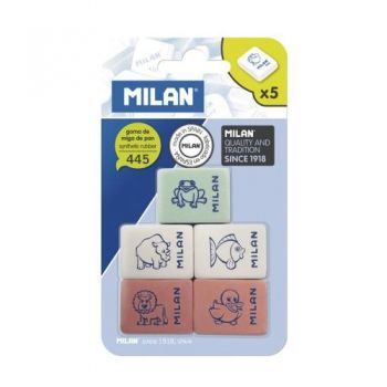 Milan set 5 rubbers collection