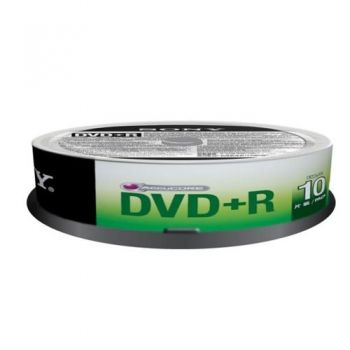 DVD+R 4.7 GB  10 pc.
