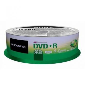 DVD+R 4.7 GB  25 pc.