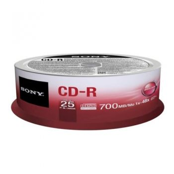 CD-R 700 MB 25 pc.
