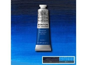 Oil color Winton, 37ml - phthalo blue 516
