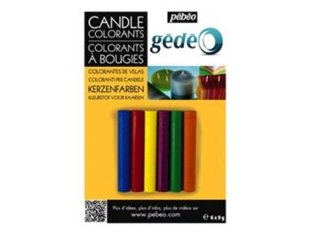 Candle colorants - 6 colors