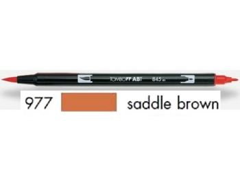 Dual brush pen TOMBOW - saddle brown
