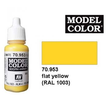Modeler paint Model Color flat yellow