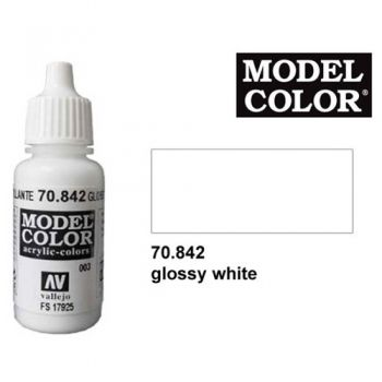 Modeler paint Model Color white glossy