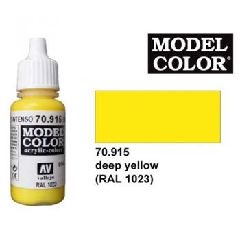 Modeler paint Model Color deep yellow