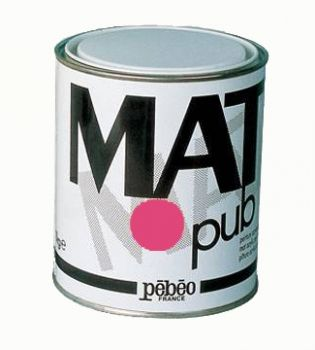 Acrylic Paints for murals Mat Pub, 1кг - tyrian pink