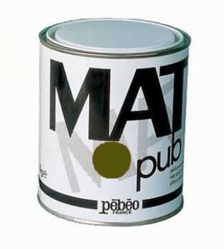 Acrylic Paints for murals Mat Pub, 1кг - raw umber