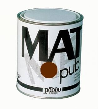 Acrylic Paints for murals Mat Pub, 1кг - burnt umber