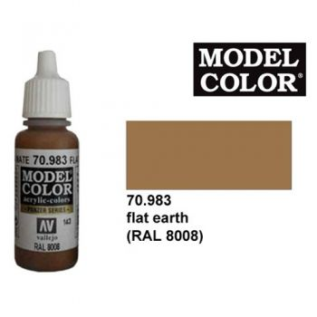 Modeler paint Model Color flat earth