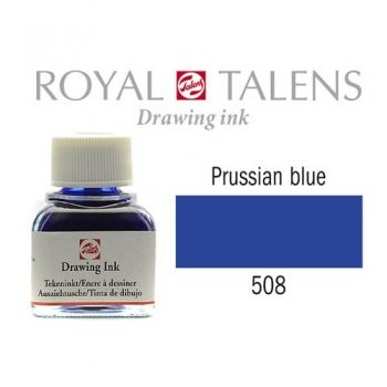 Drawing ink Royal Talens Prussian blue 11 ml.
