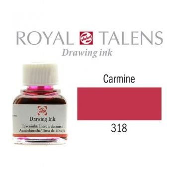 Drawing ink Royal Talens Carmine 11 ml.