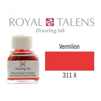 Drawing ink Royal Talens Vermilion 11 ml.