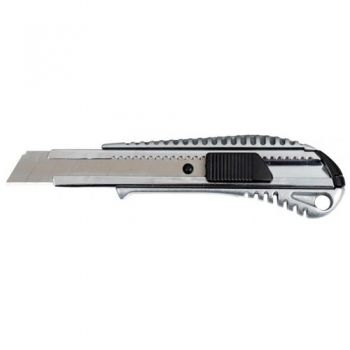 Metal office knife CASSA 18 mm