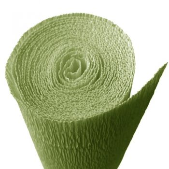Crepe paper pale green