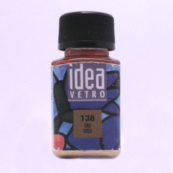 Idea Vetro glass paint Gold