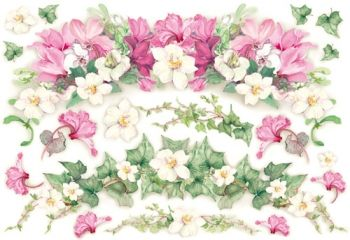 Decoupage paper Stamperia DFS012 Beautiful flowers