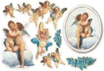 Decoupage paper Stamperia DFS021 Angels