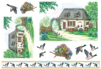 Decoupage paper Stamperia DFS049 Farm house