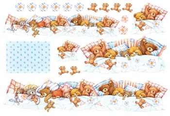 Decoupage paper Stamperia DFS062 Teddy Bears